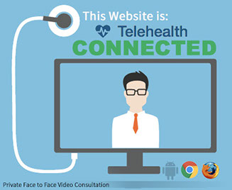 Telehealth connected website to speak with a physician about ED.